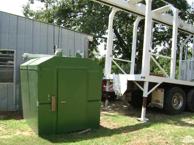 Installation Fain Storm Shelters